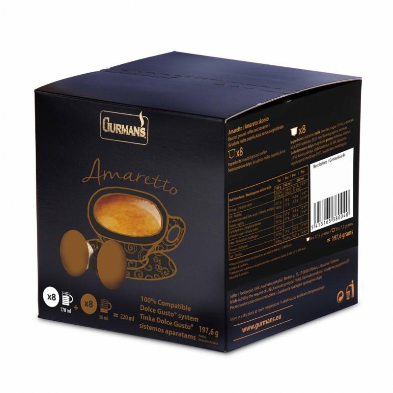 AMARETTO Dolce Gusto Coffee capsules